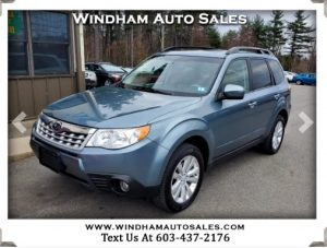 Used 2011 Subaru Forester 2.5X