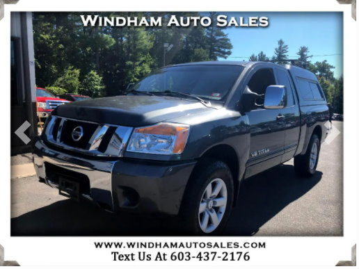 Used 2010 Nissan Titan 4WD King Cab