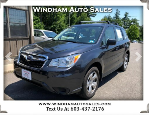 Used 2016 Subaru Forester 4dr Man 2.5i PZEV